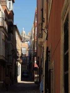 Narrow street in Almeria