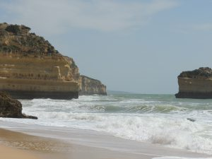 Beaches in the south of Portugal
