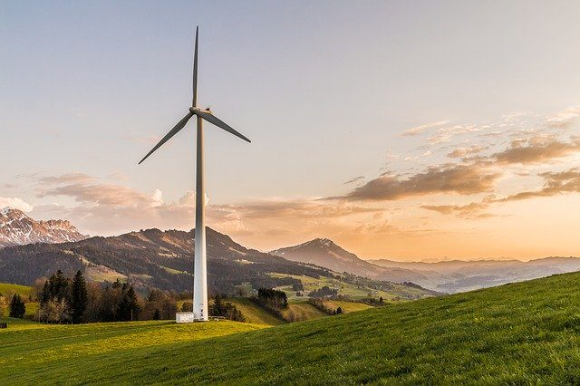 Wind-Turbine, clean energy