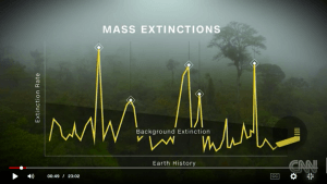 CNN extinction chart video