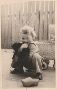 My love for cats started at an early age
