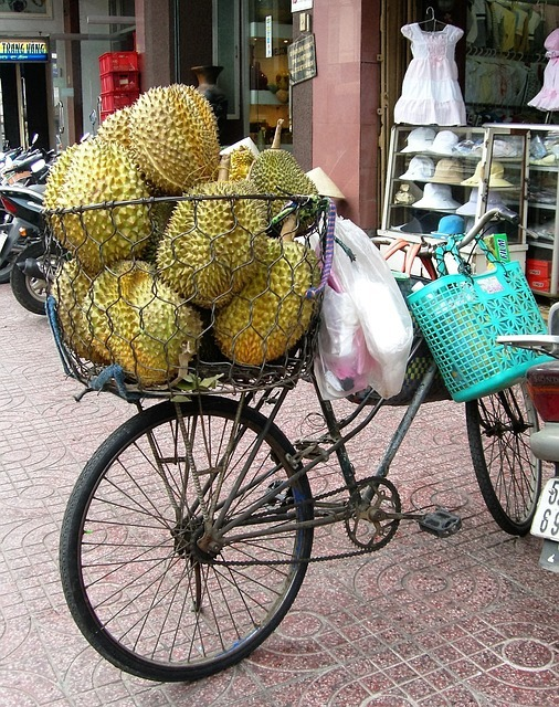 Jackfruit transported in Vietnam