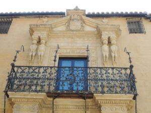 Palacio del Marques de Salvatierra, 4 Inca figures on entrance