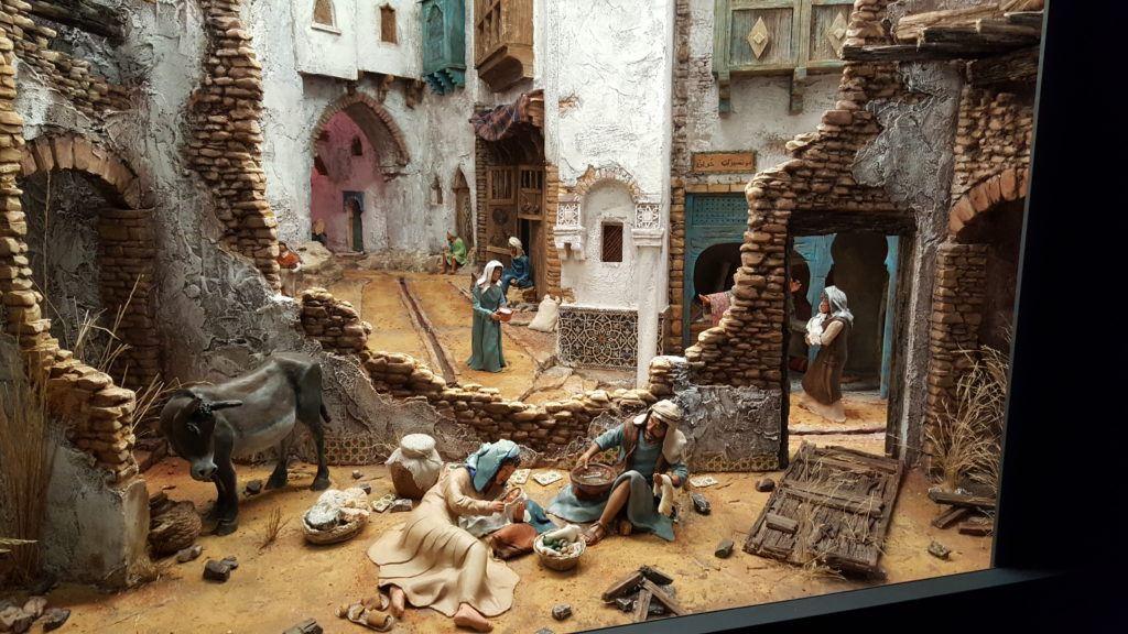 Joseph, Maria, and the child