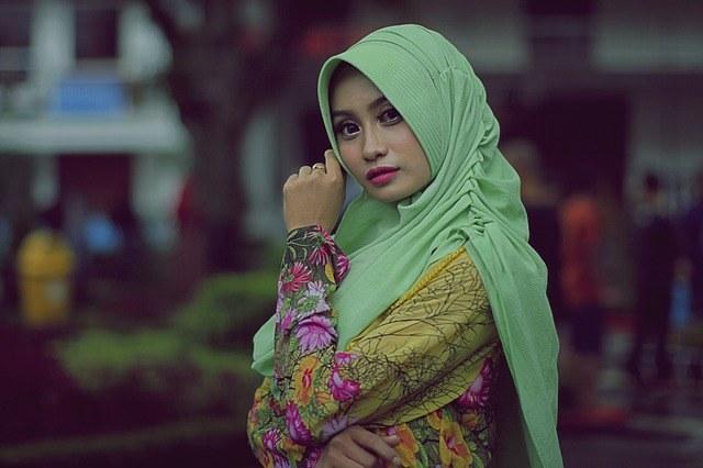 Lady in Hijab