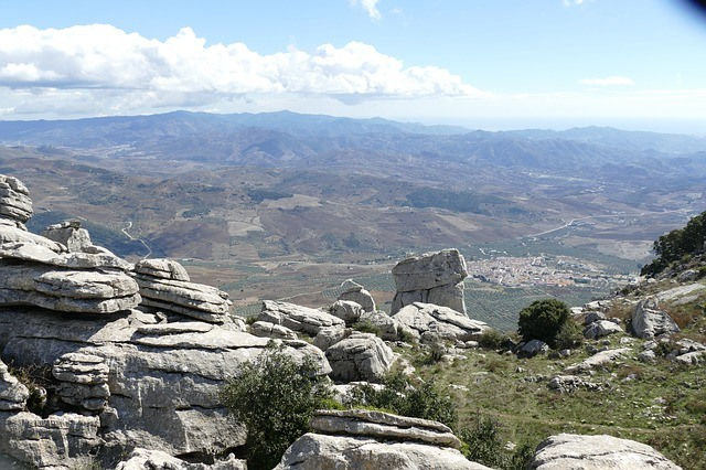 View from El Torcal