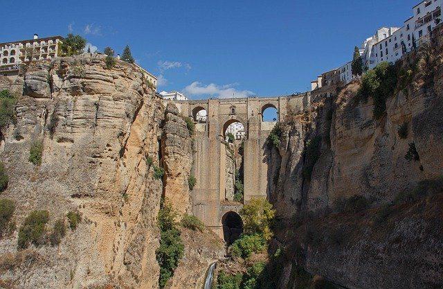 The fa,ous New Bridge in Ronda