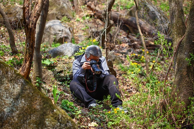 Photographing nature