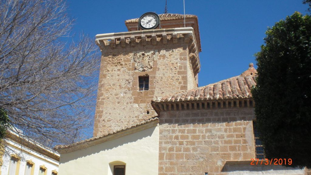 the church tower of nijar