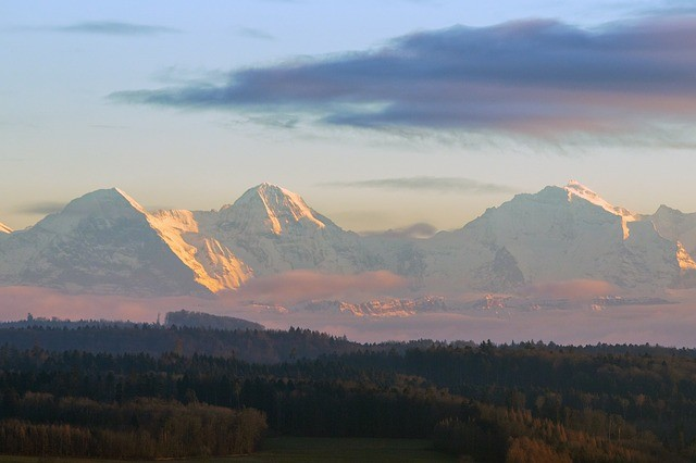 Eiger Mountain, Alps