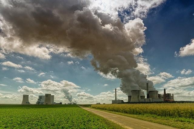 Contaminating power-plant