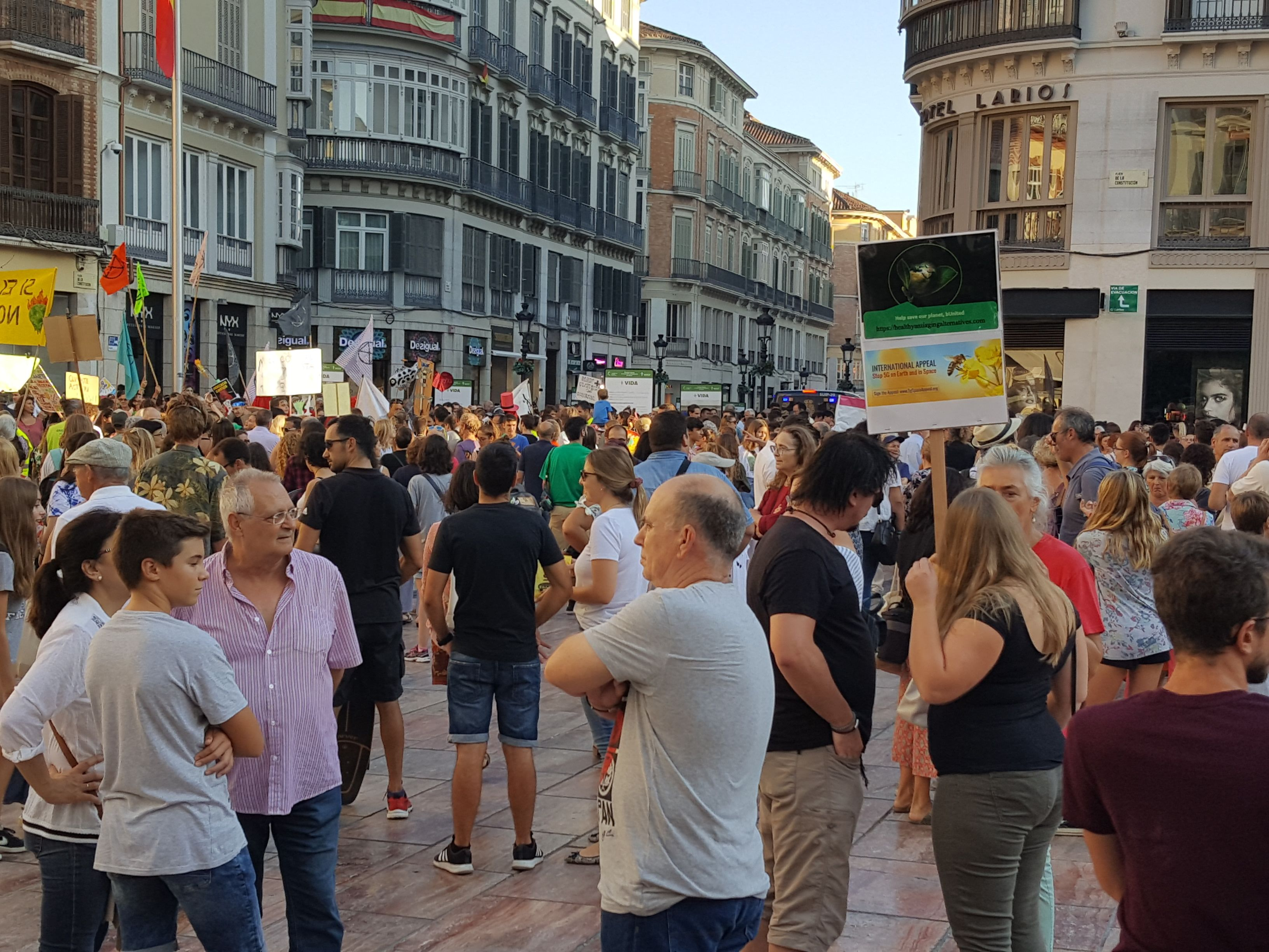 Global Climate Strike in Malaga