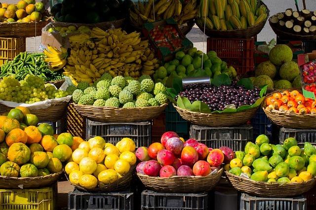 Lovely fruit from the market