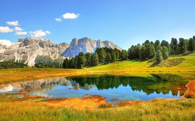 Dolomites Val Gardena mountains