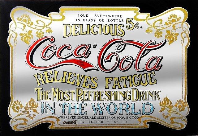 Antique Coca-Cola advertisement