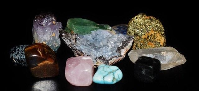 A collection of Semi-Precious stones